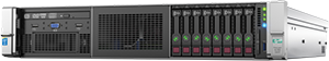 Image of HPE ProLiant G9 model DL380 Server on clear background