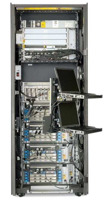 Internal snapshot of IBM 2098 model z10 BC