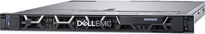 Model R640 Manufactured by Dell EMC of the PowerEdge Rack Sries